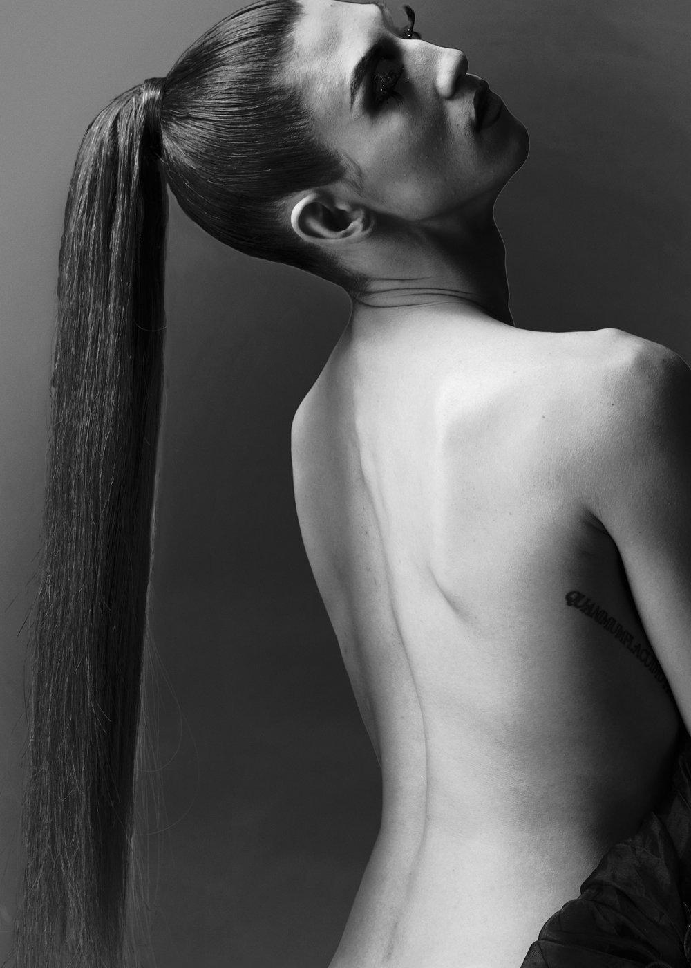 Photo by John Burke  Hair by Tim Aylward
