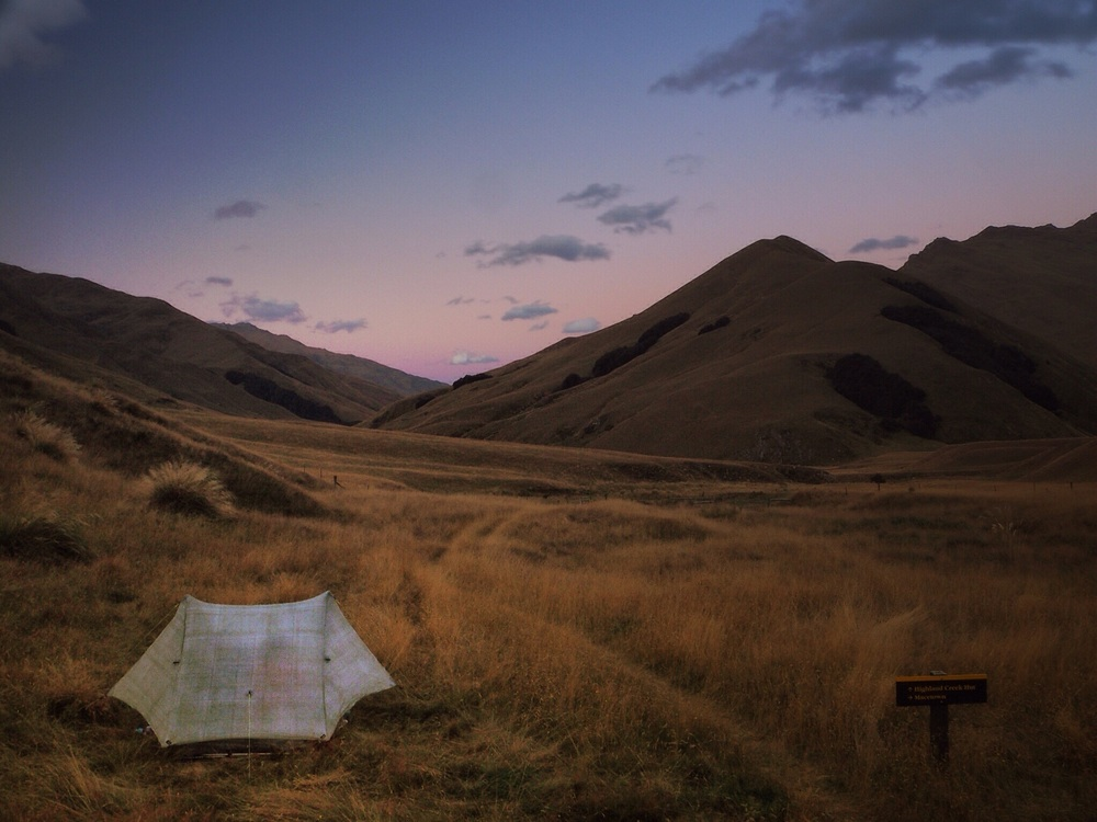 POD and Disco's tent. Nice view from the hut!