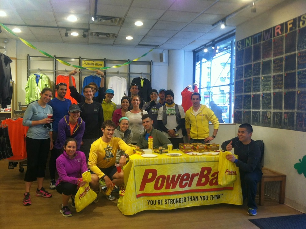PowerBar at JackRabbit Sports
