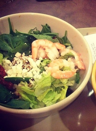 Mediterranean Shrimp Couscous Salad from Panera