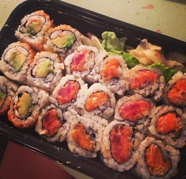 Making Sushi Healthy