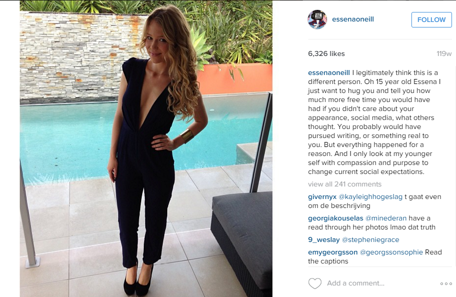 Essena O'Neill Quits Social Media