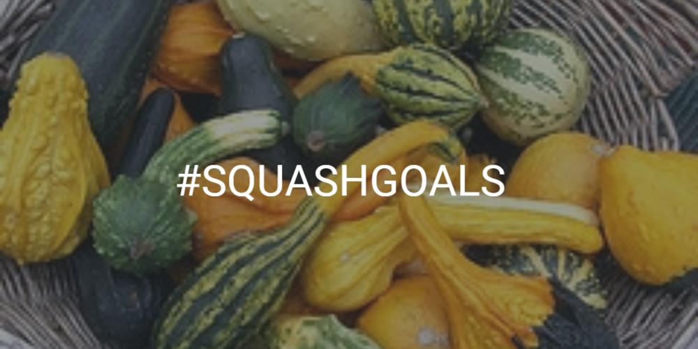 #SquashGoals