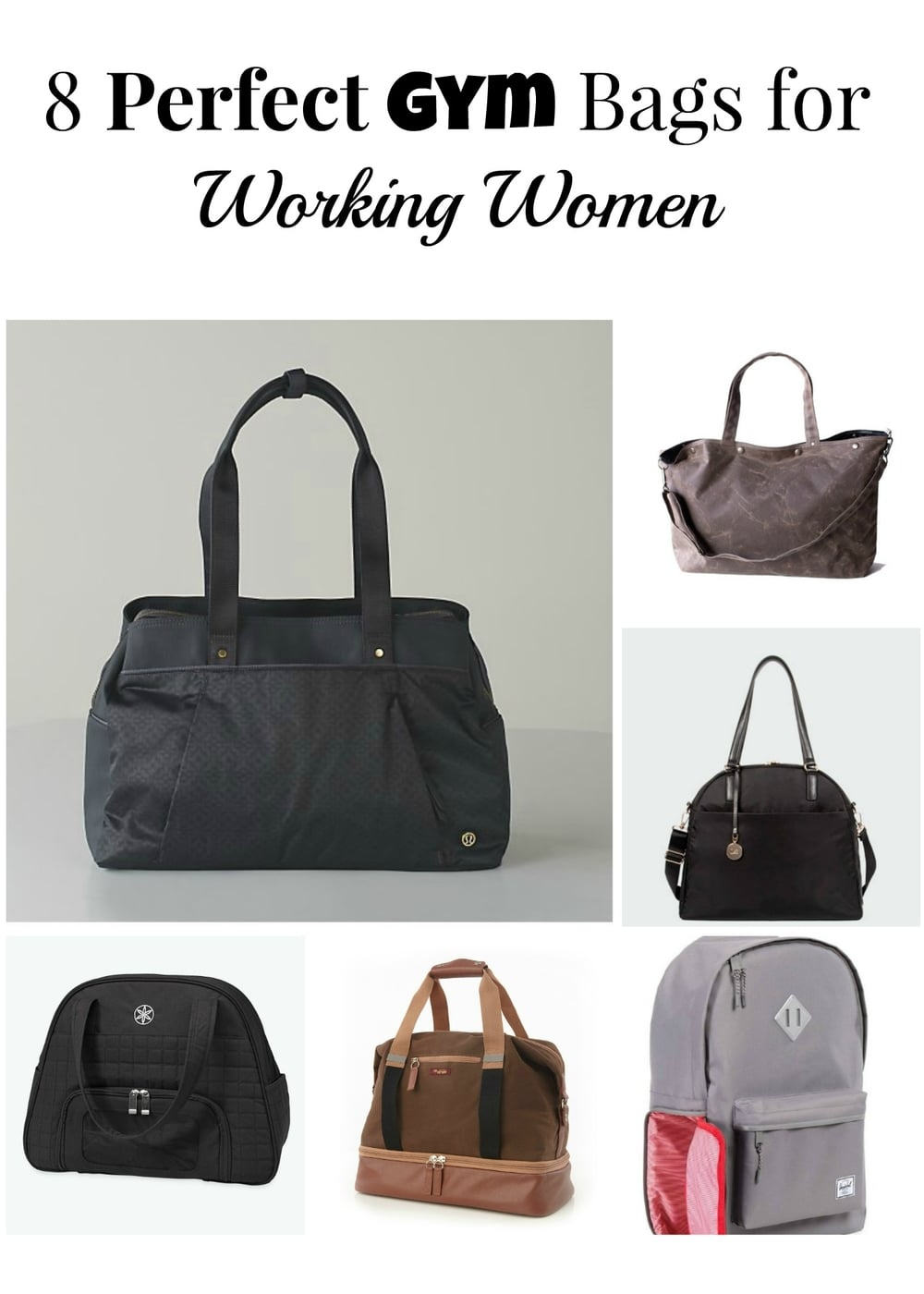 8 Perfect Gym Bags For Working Women Peanut Butter Is My