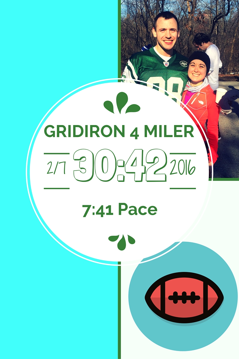 NYRR Grid Iron 4 Miler