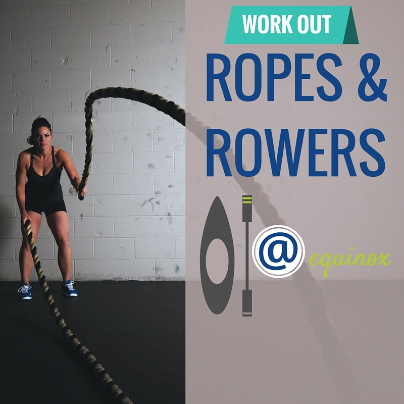 Equinox Ropes and Rowers