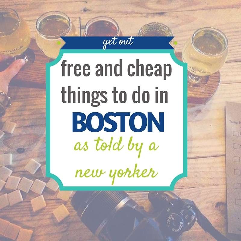 Free & Cheap Things to do in Boston