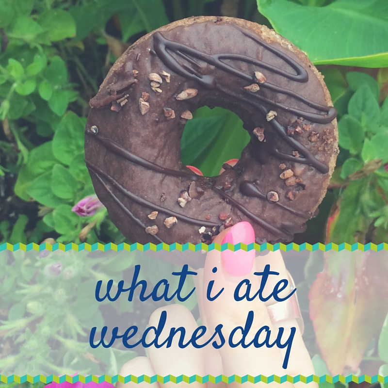 What I Ate Wednesday