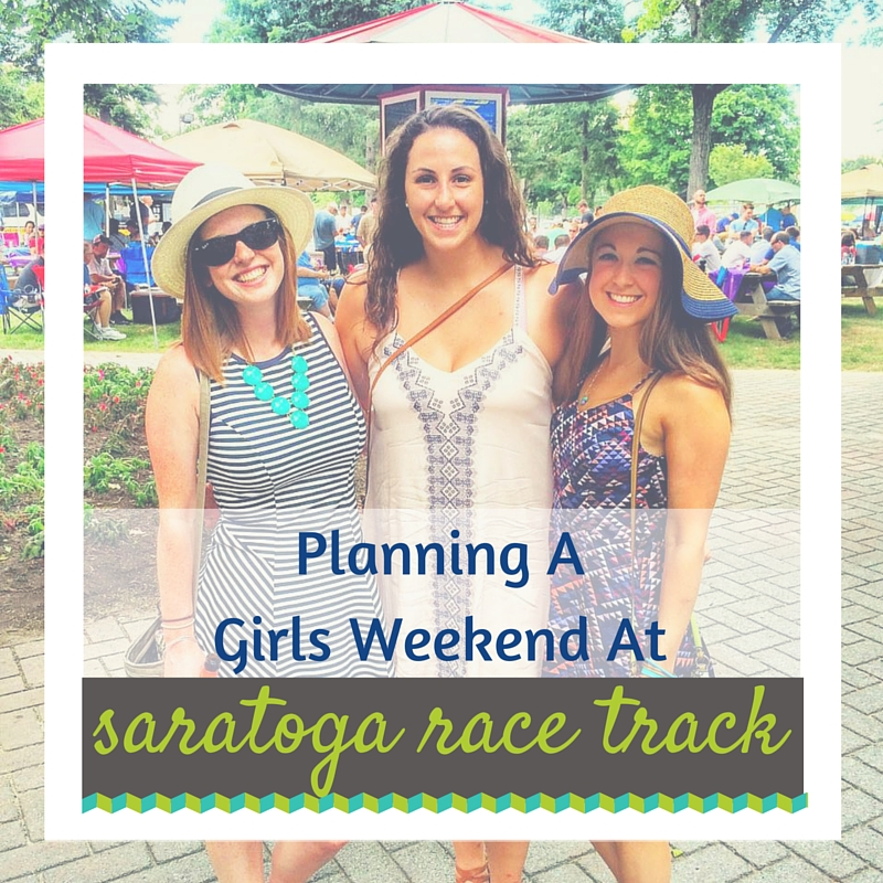 Girls Weekend At Saratoga Race Track