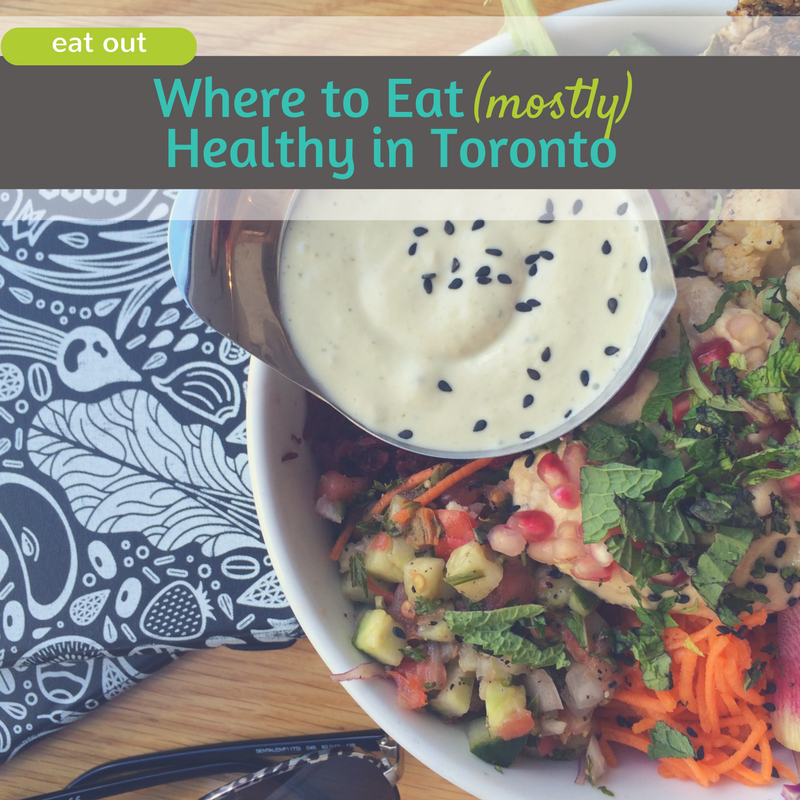 Healthy Places to Eat in Toronto