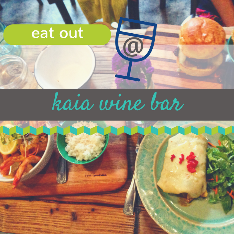 Kaia Wine Bar Review