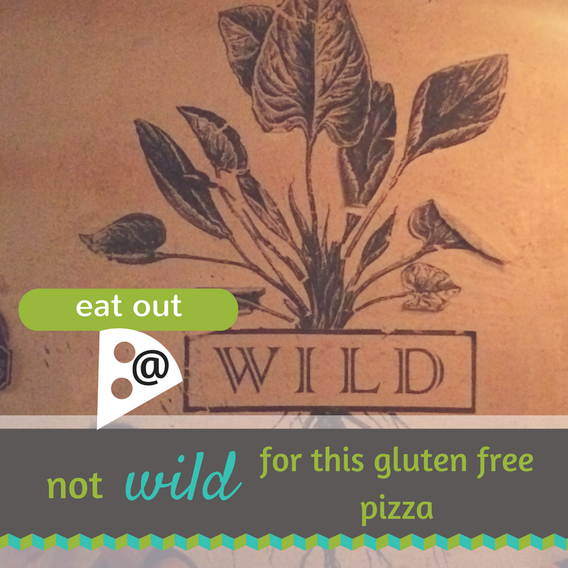 Wild Gluten Free Pizza Review