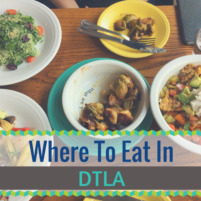 Where to eat in Downtown LA
