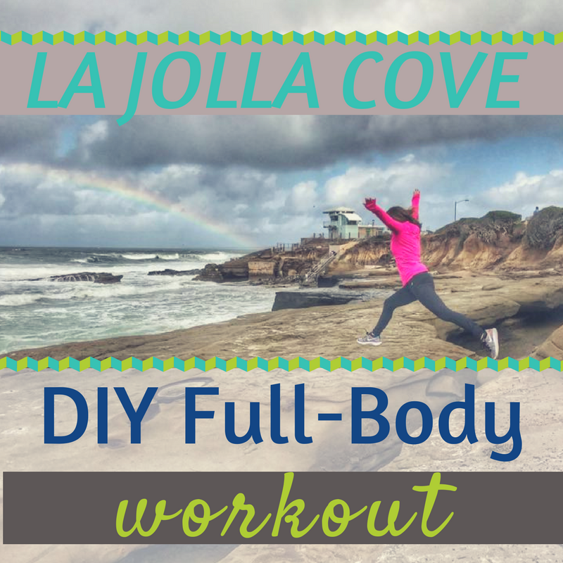 La Jolla Cove DIY Workout