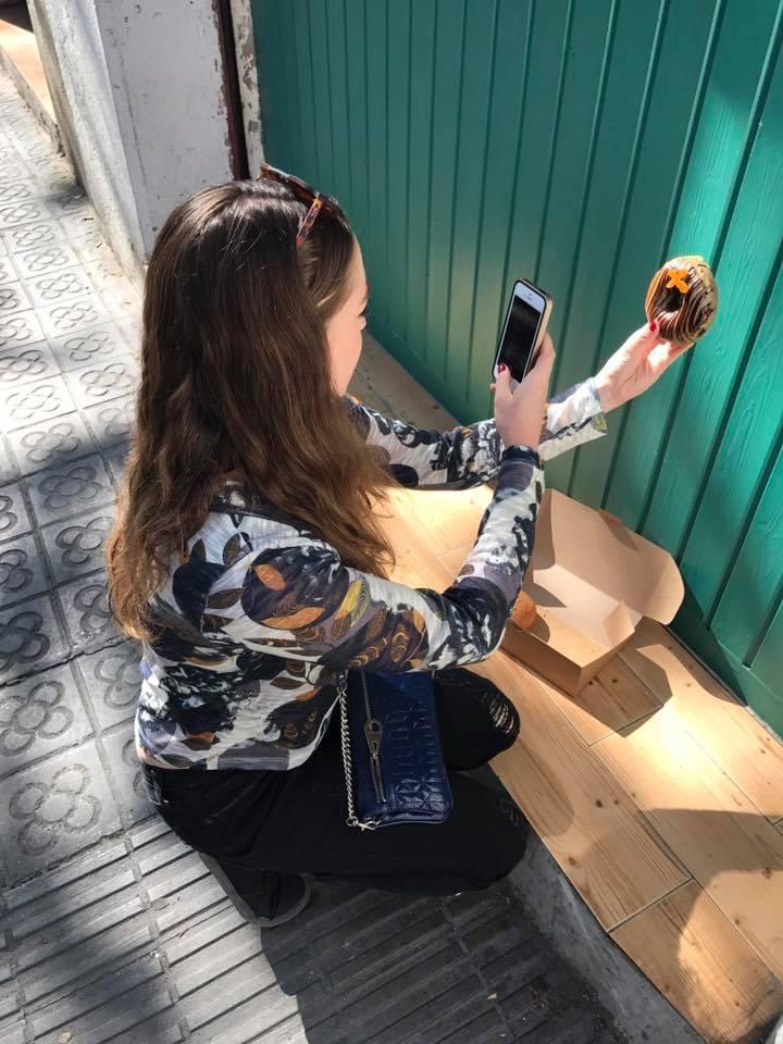 Barcelona Travel Guide Doughnuts