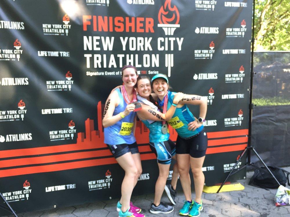 NYC Tri Race Recap