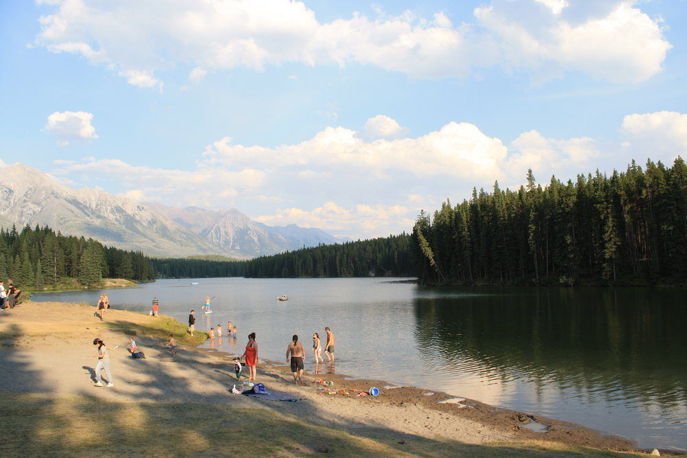 Johnson Lake Banff