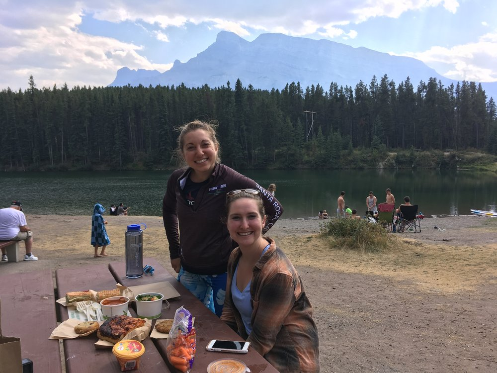 Johnson Lake Banff Picnic