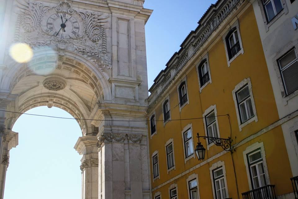 Lisbon Rua Augusta Arch