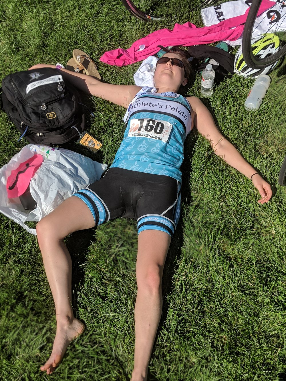 Like I said, triathlons are hard.