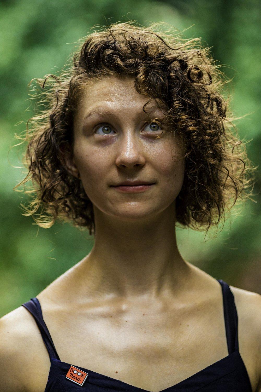 Author and fine artist Marika McCoola