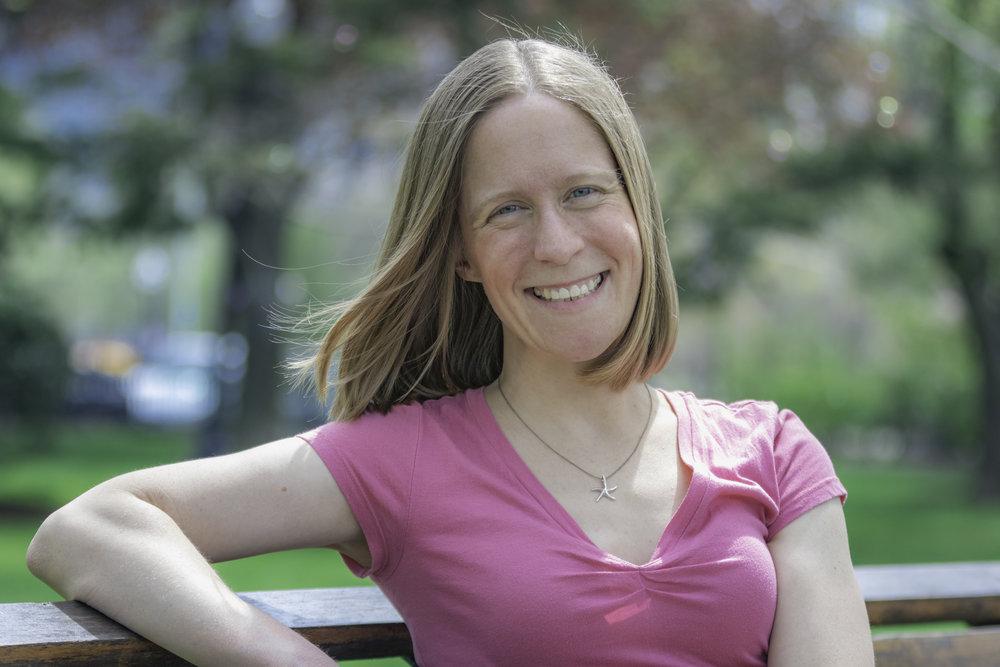 Author Jen Petro-Roy