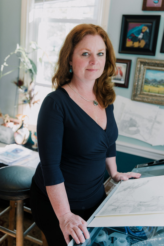 Author-Illustrator Marlo Garnsworthy