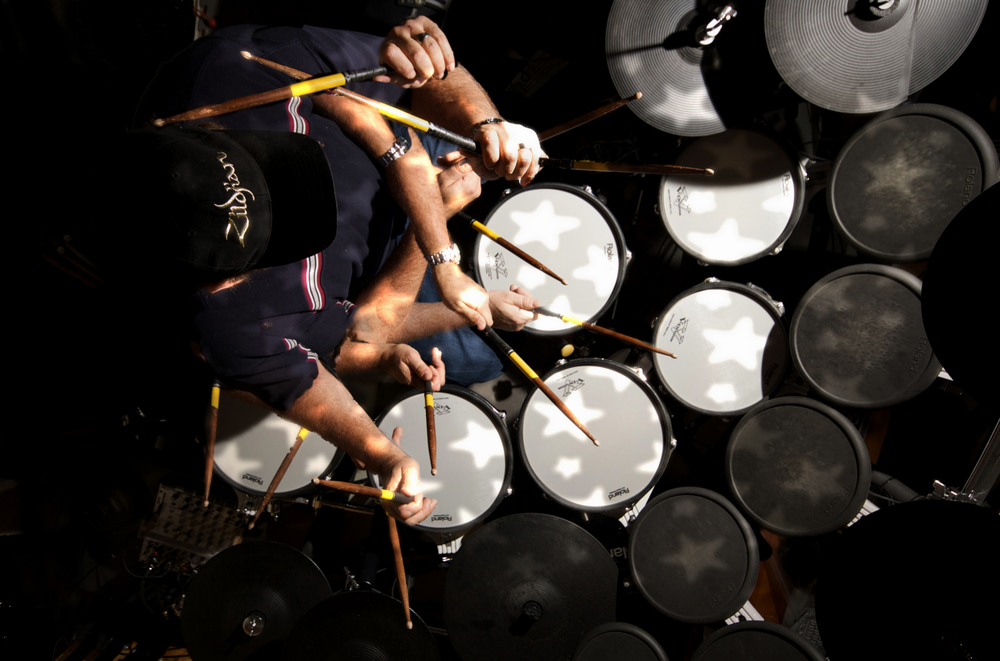 I took up drumming 21 years ago. - Those who hear me play say I should have started earlier.