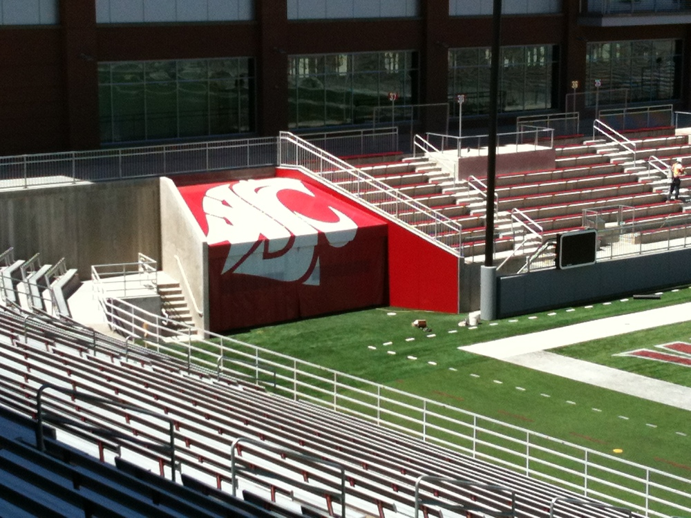 WSU Martin Stadium Cougar Graphics