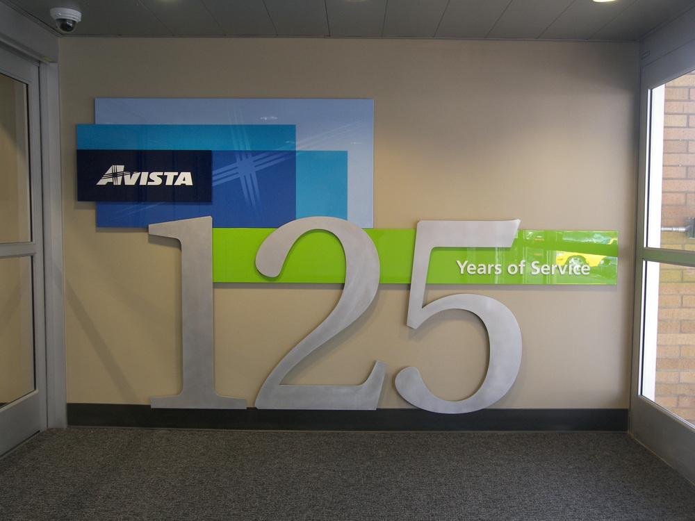 Architectural Sign for Avista