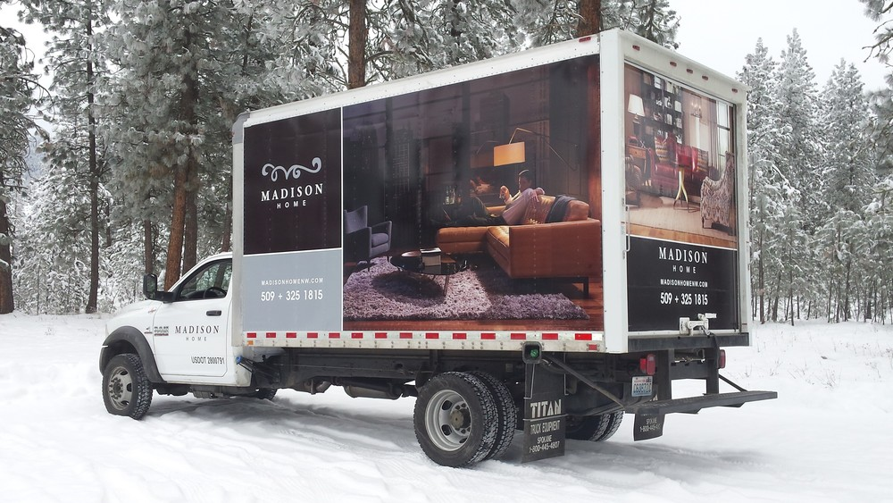 Vehicle Wrap Madison Home