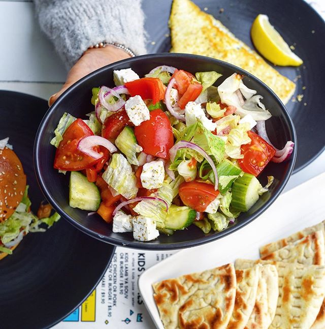 The humble Greek Salad! Always a winner on our watch 😁