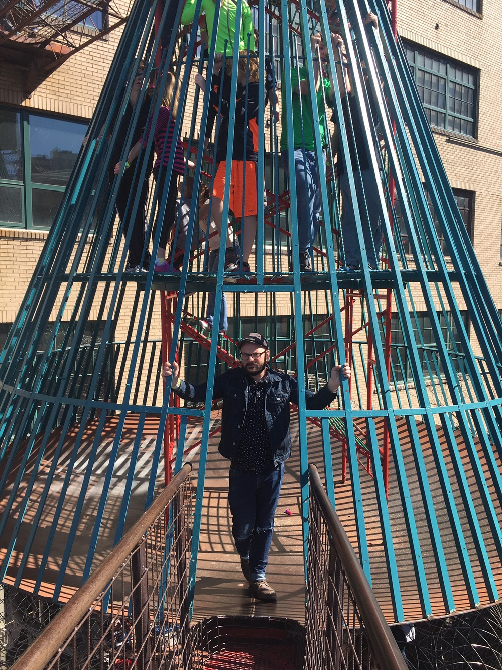 City Museum St. Louis Outdoor Jungle Gym
