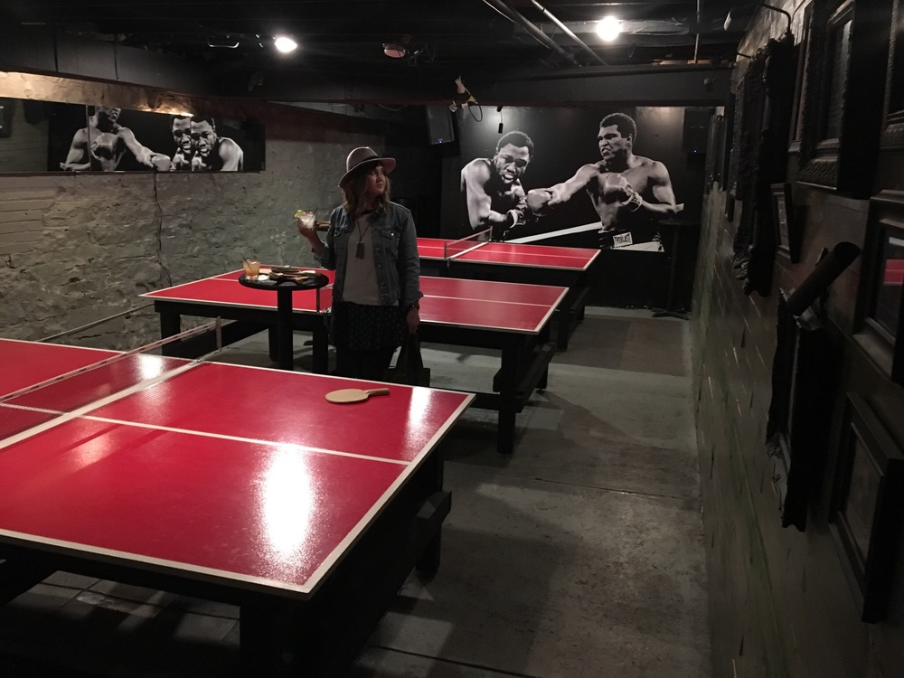Brennan's Ping Pong Room St. Louis