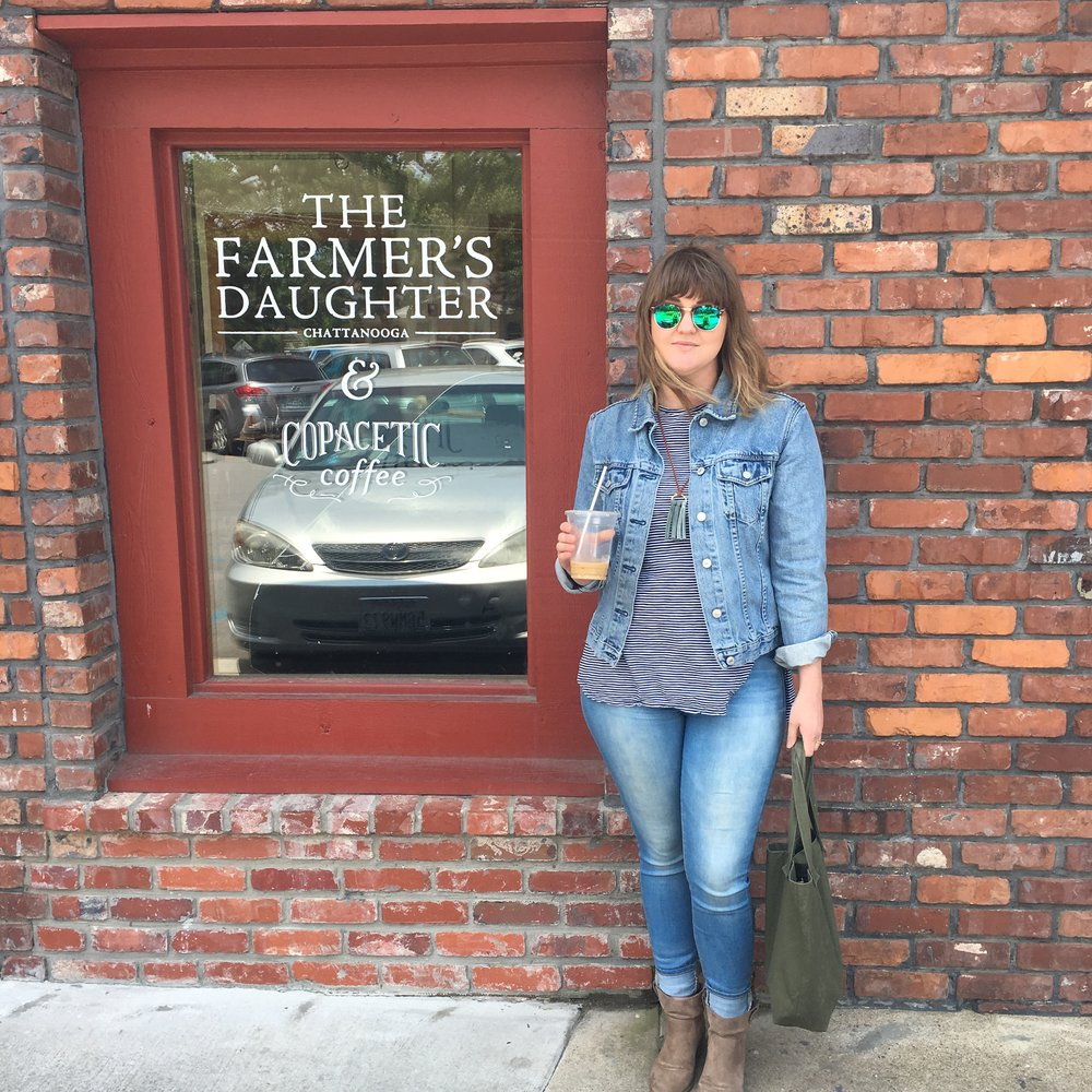 We stopped in the Farmer's Daughter, one of my favorites that is sadly no longer open.