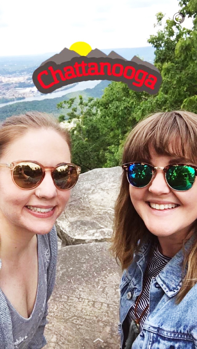 Obligatory Lookout Mountain selfie!