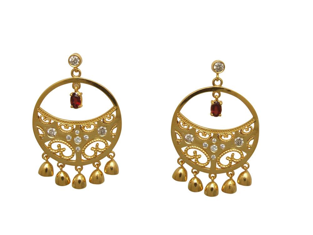 Anjula Earrings