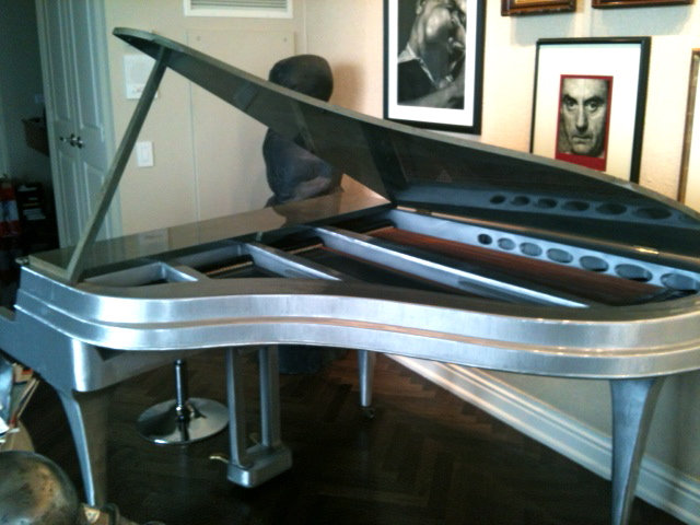 art deco piano