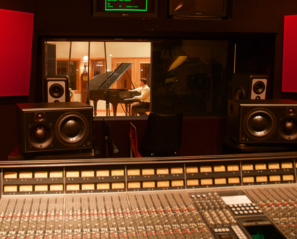 Tuning in a recording studio