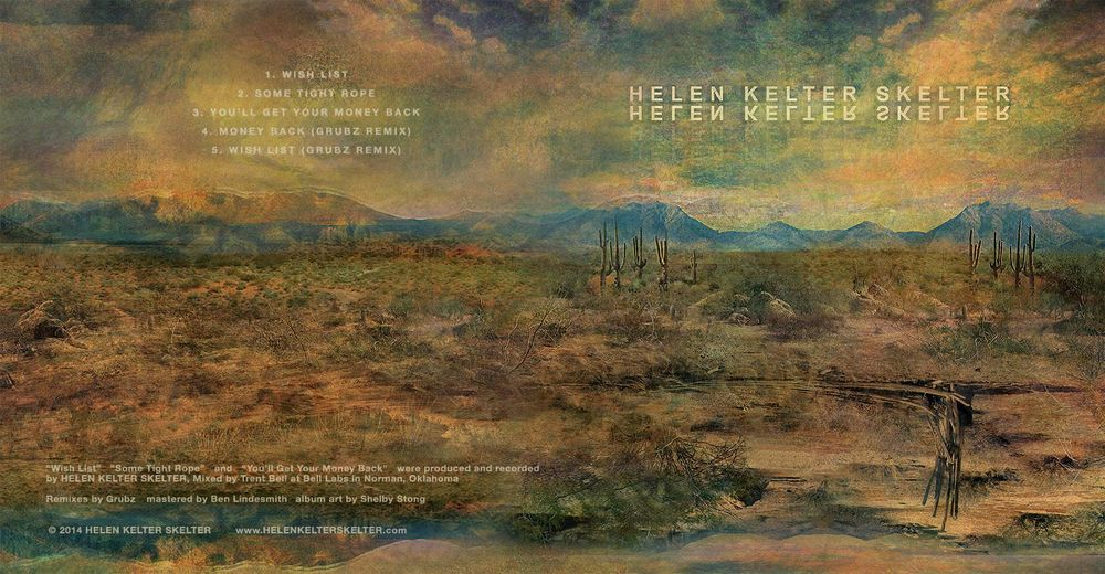 Helen Kelter Skelter cover design