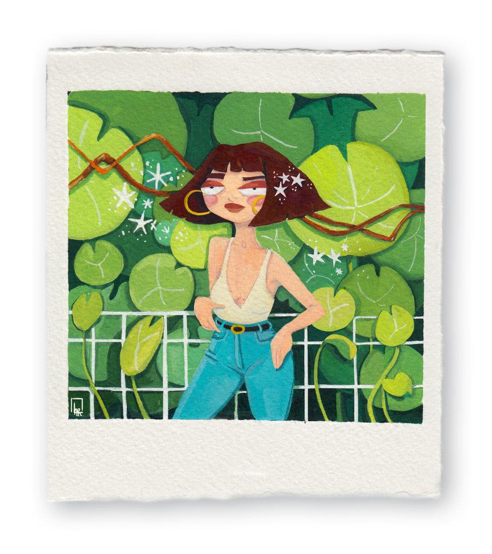 Lily Pad Girl