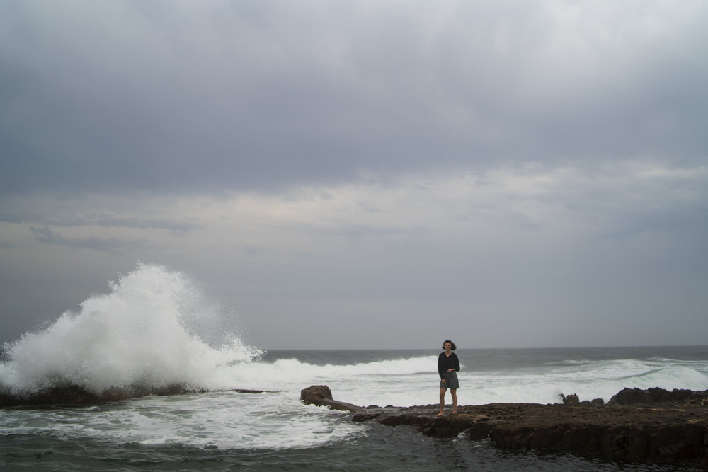 Salt Rock Durban, SA - Edited in Photoshop