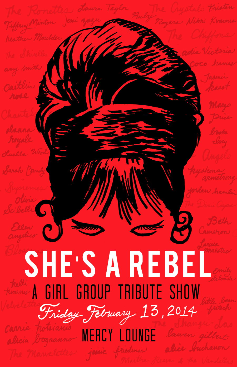 She's A Rebel: A Girl Group Tribute Show