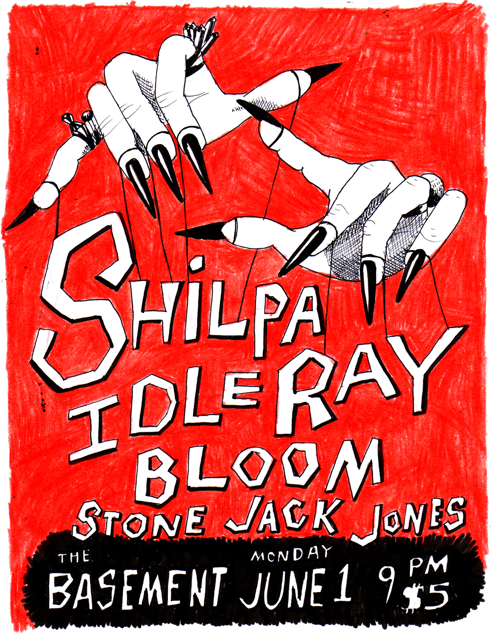 Shilpa Ray, Idle Bloom, & Stone Jack Jones
