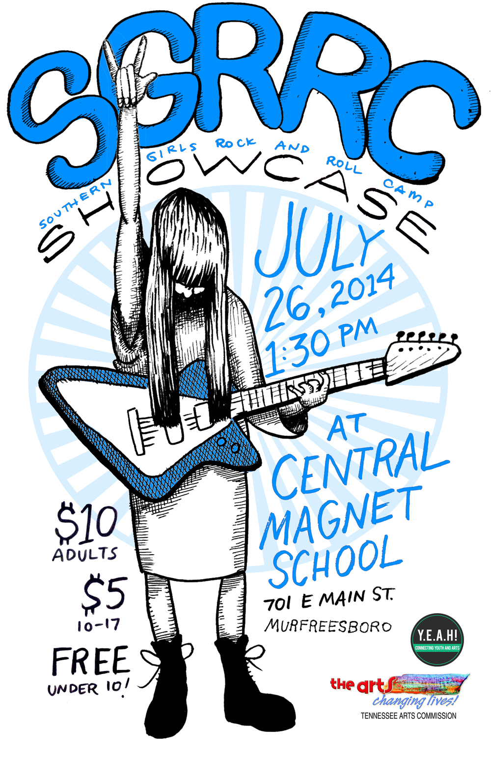Southern Girls Rock n Roll Camp Showcase