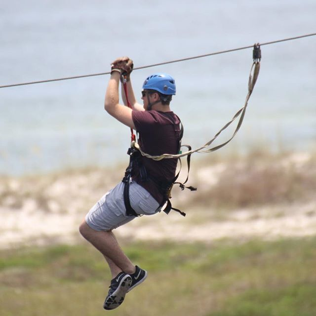 Ziplining in Florida!