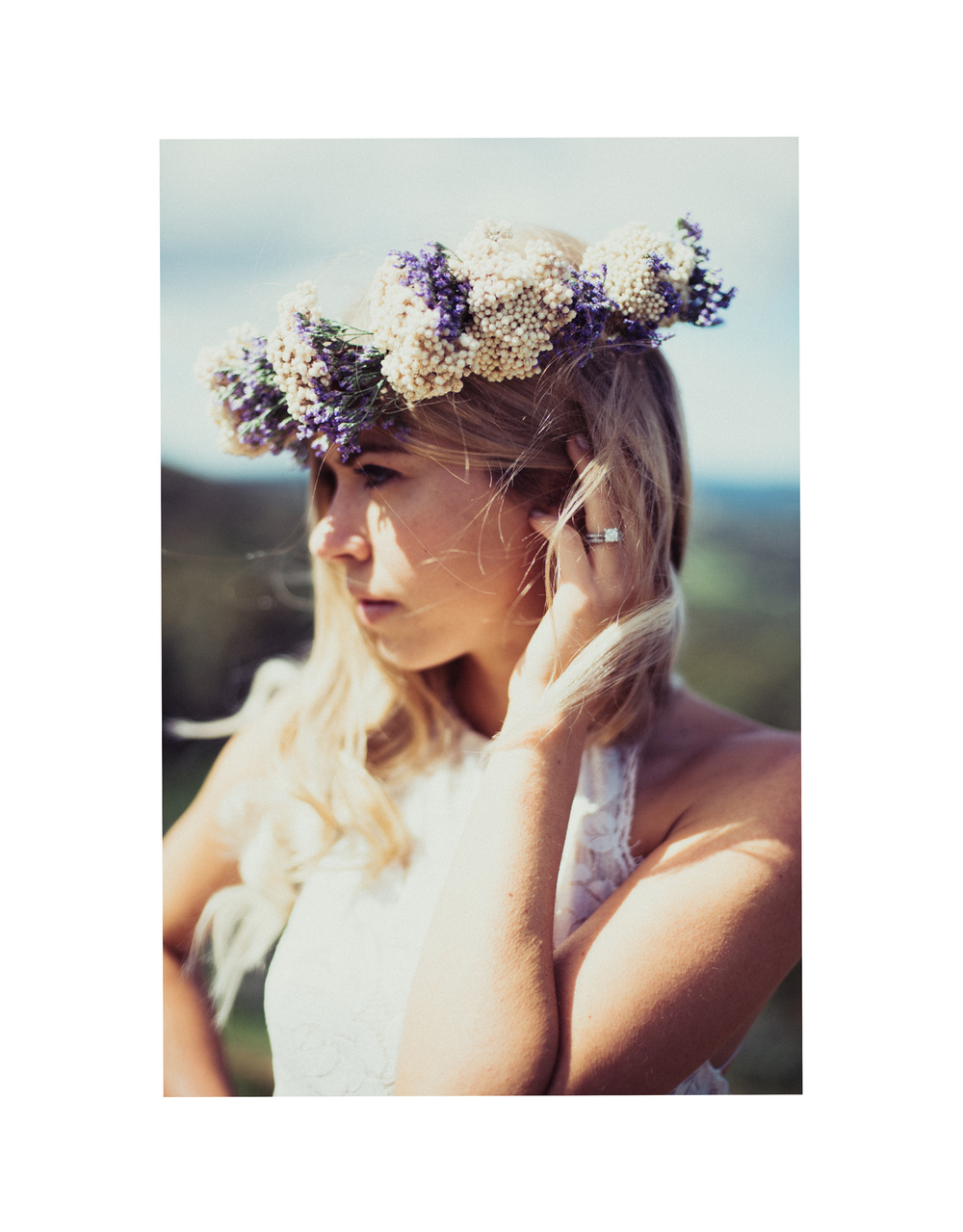 flower crown bride adelaide hills