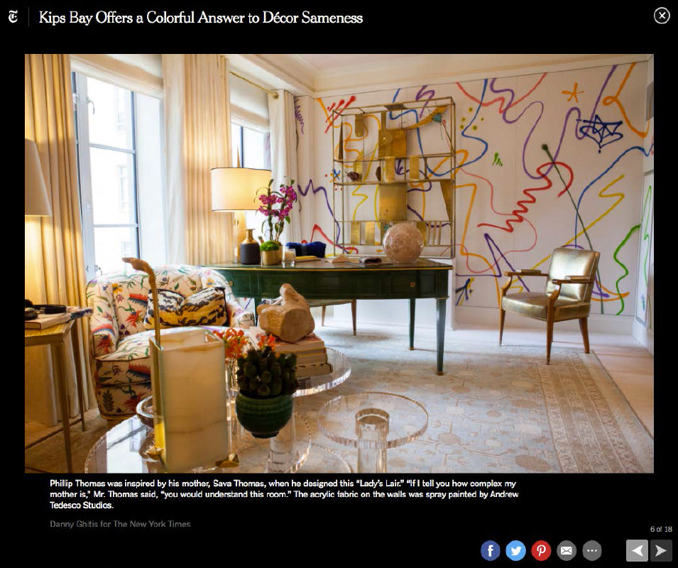 New york times online phillip thomas inc for New york times interior design