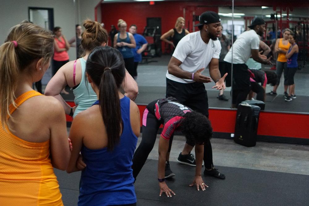 "Women's self-defense workshop with ISKA kickboxing champion Randy ""Boom Boom"" Blake"