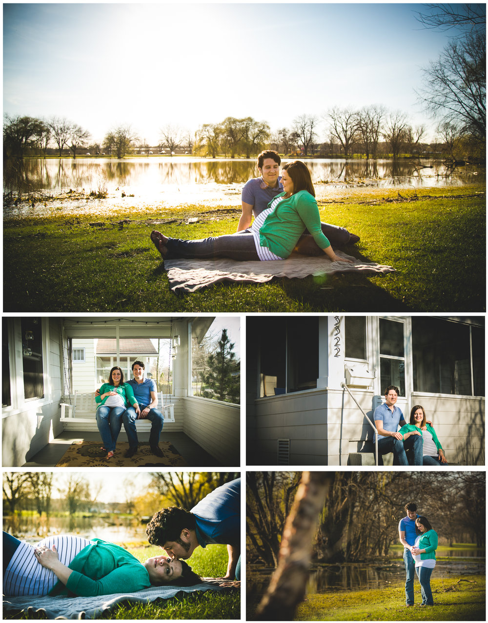 The nostalgia of looking back on the first home my husband and I created, where we brought home our first baby....it's something very special to me. I hope these snaps capture this same emotion for Maria and Andy when their child is grown and they look back and remember how tiny Ania was, the many night rocking sessions that took place in her nursery or the thousands of laughs that took place on their front porch.